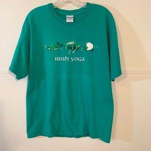 Irish Yoga Graphic T by Gildan Ultra Cotton